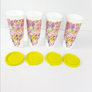 New!!! Tupperware fanciful floral